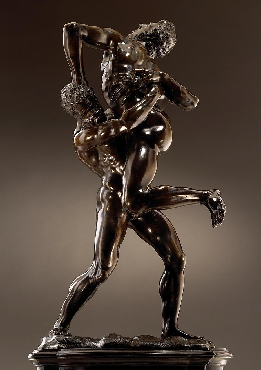Hercules And Antaeus Tomasso Brothers Fine Art Inventory
