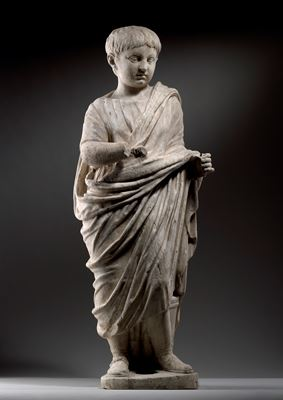 Statue of the so called 'Young Nero' (37 A.D. – 68 A.D.), circa 50 A.D.