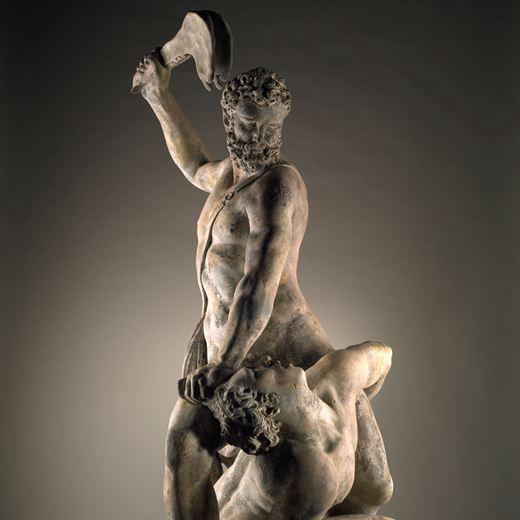 Samson Slaying a Philistine after Giambologna (1529–1608)