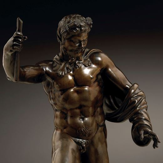 The Borghese Satyr After the Antique