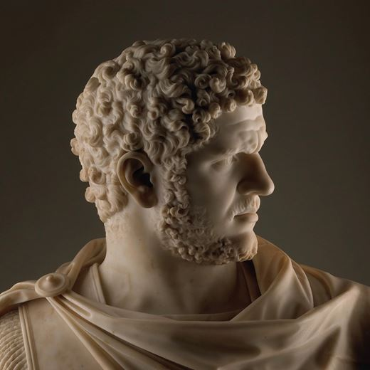Bust of the Emperor Caracalla (reigned A.D. 198-217) of the Farnese type