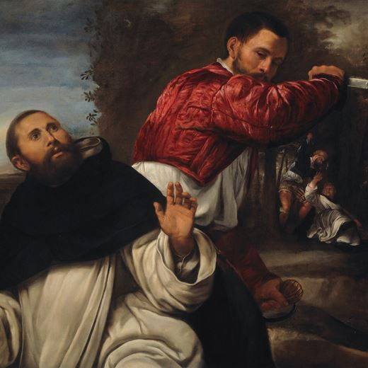 The Death of St. Peter Martyr
