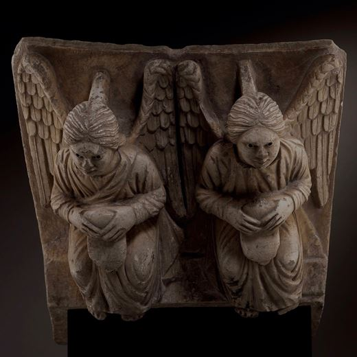 Lectern representing Two Angels