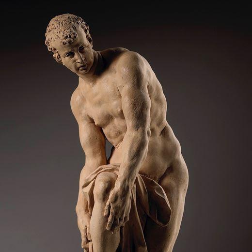 Hermes Fastening his Sandal, also known as Cincinnatus