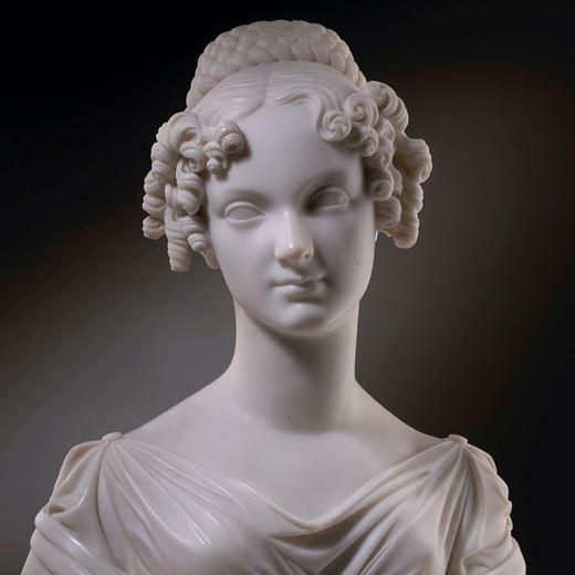 Bust Portrait of Countess Maria Leopoldina Esterházy de Galántha, née Princess von Metternich-Winneburg (1797-1820)