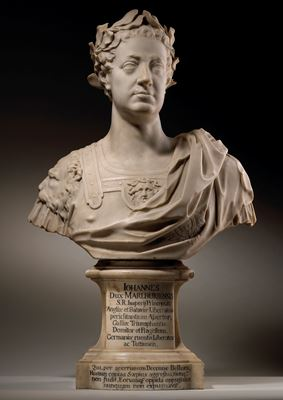 Bust of John Churchill, 1st Duke of Marlborough (1650-1722)