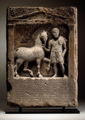 Funeral stele for Apion, son of Bion
