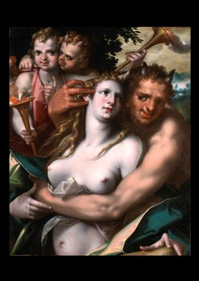 Jupiter and Antiope, c. 1600