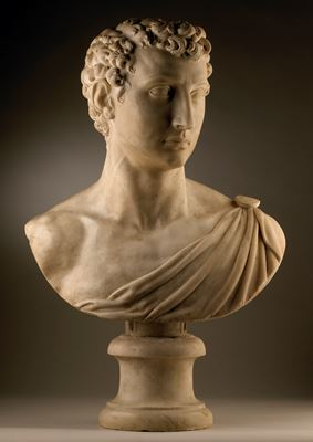 Bust of a man