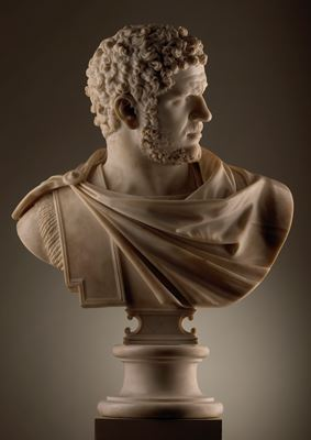 Bust of the Emperor Caracalla ( reigned A.D. 198-217) of the Farnese type